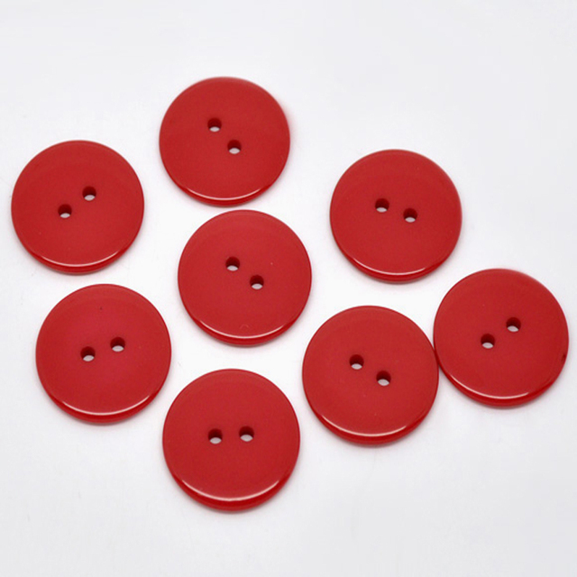 """50pcs 1"""" 2-Holes Resin buttons Fit sewing buttons Scrapbooking craft 23mm"""