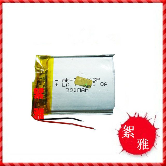 3.7V polymer lithium battery 303443 MP5 GPS Tablet PC Game Rechargeable Li-ion Cell