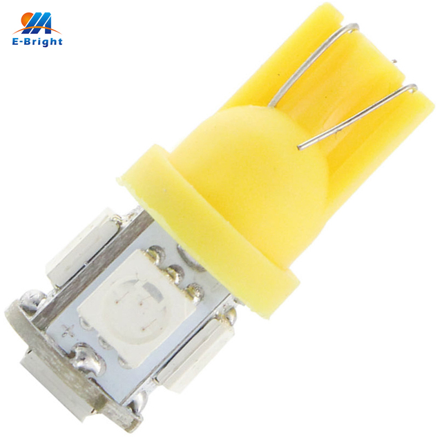 YM E-Bright 1000X T10 194 168 W5W 5050 5 SMD Car Lights LED Wedth Light Bulb For Auto Lamps White Yellow Green Pink Blue