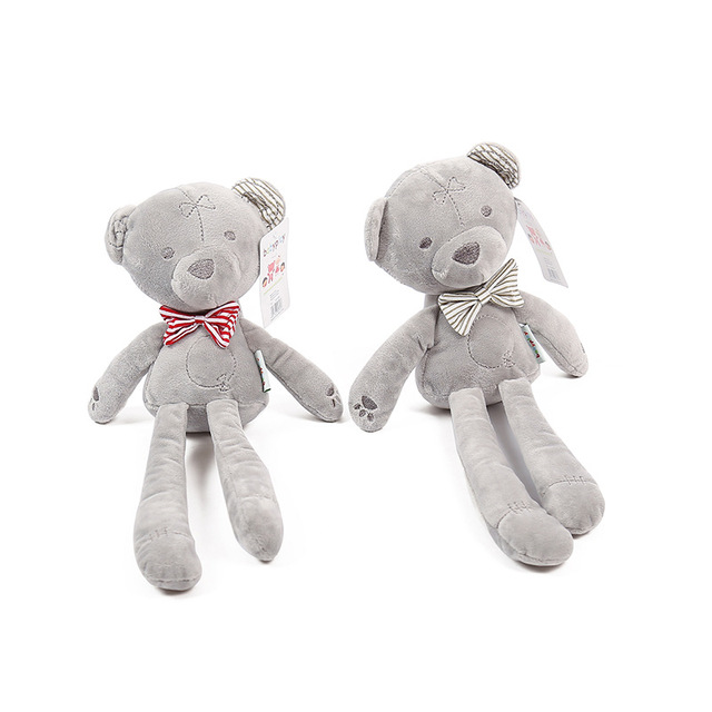 Christmas Gift Large 42cm Cute bear Toy doll kid Birthday gift toy brinquedos Cute Soft Stuffed Animal Toy Baby Girl Kid Pets