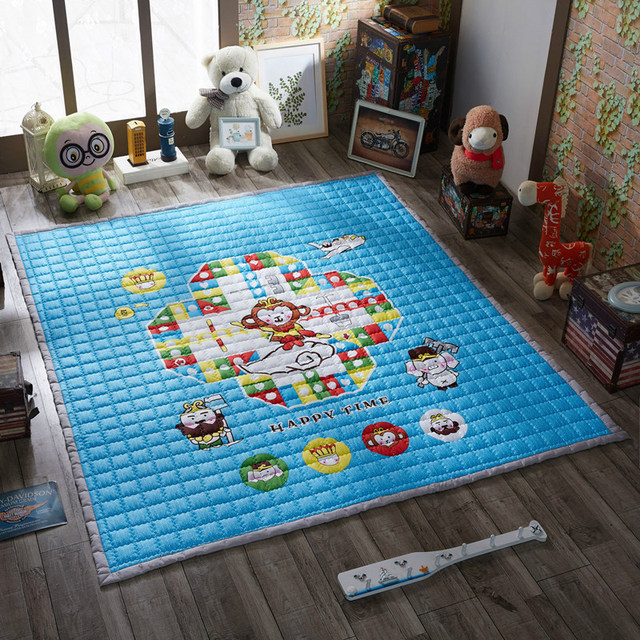 Cute Outdoor Child Carpets Kids Play Game Mat Child Game Carpet Outdoor Baby Crawling Carpets Thicken Mats Baby Crawling  tapete