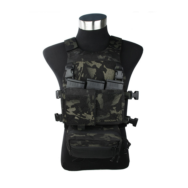 2018 New MCBK SS chest rig Multical Black Light SS Chest rig set Tactical chest rig MCBK