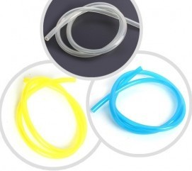 1 Meter Fuel Line 10*6mm for Gas Engine -Transparent/ Blue/ Yellow Color