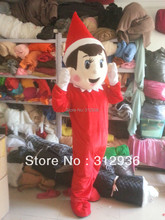 2017 New Mascot Costumes For Adults Christmas Halloween Outfit Fancy Dress Suit Free Shippingthe Son Of Santa Claus