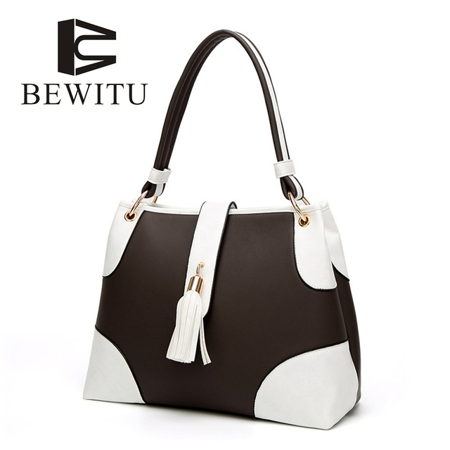 BEWITU 2018 Europe And The United States New Women's Handbags Wild Trend Women's Bag Fringe Messenger Bag