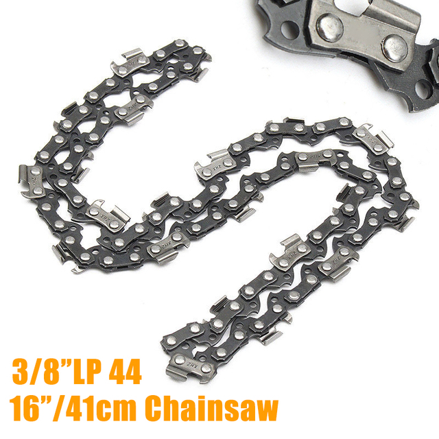 "1pcs 16"" Chainsaw Saw Chain Blade For 3/8""LP Shape Blade Saw Chain for Wood cutting Chainsaw Parts"