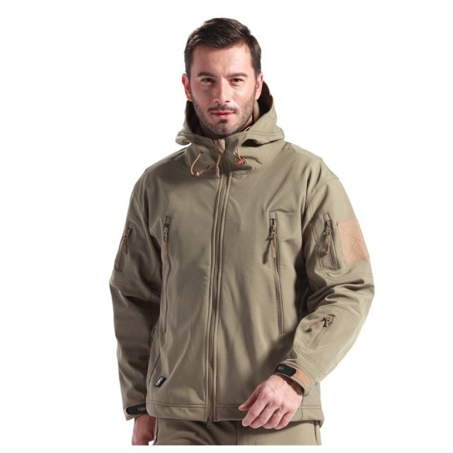 New TAD Gear Tactical Softshell Camouflage Outdoor HIiking Jacket Men Army Sport Waterproof Hunting Clothes Military Jacket