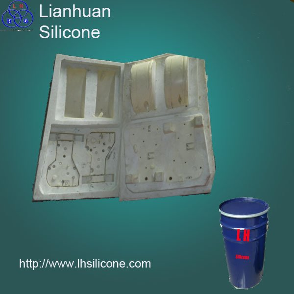 liquid silicone rubber for PU fountain crafts mold