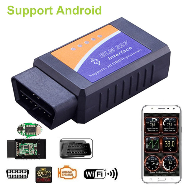 Vehemo OBD2 Diagnostic Tool Chip Diagnostic Scanner Ethernet To OBD Car Diagnostic for Bluetooth Code Reader Tool Auto