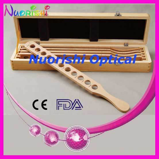 E03-4 Optometry Supplies Retinoscopy Trial Board Lens Rack Set Kit 5 Wooded Bars Wooden Case Packed Lowest Shipping Costs