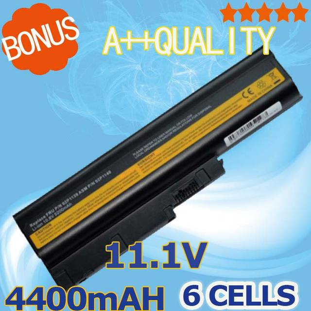 4400mAh Laptop Battery for lenovo sl500 40Y6799 92P1138 92P1140 92P1142 42T4504 42T4513 42T5233 92P1137 92P1139 92P1141