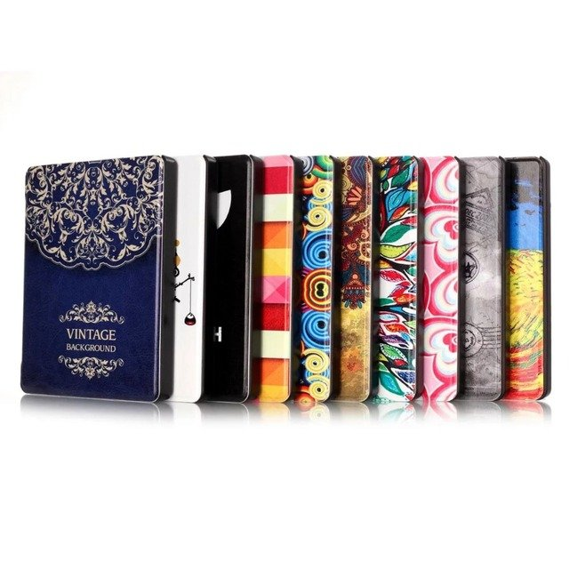 """Colorful Pattern Cover For Amazon Kindle Oasis Case Flip PU Leather Tablet Case For Amazon Kindle Oasis Cover 6""""inch+Pen"""