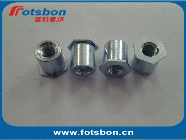 SO-M6-16 , Thru-hole Threaded Standoffs,Carbon steel,zinc,PEM standard,made in china,in stock.