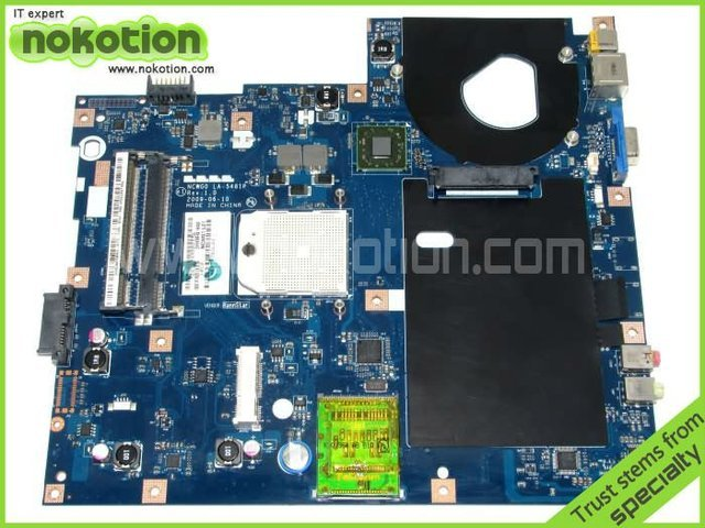 Notebook PC System board /main board For Acer aspire 5532 5517 motherboard DDR2 NCWG0 LA-5481P MBN6702001 MB.N6702.001