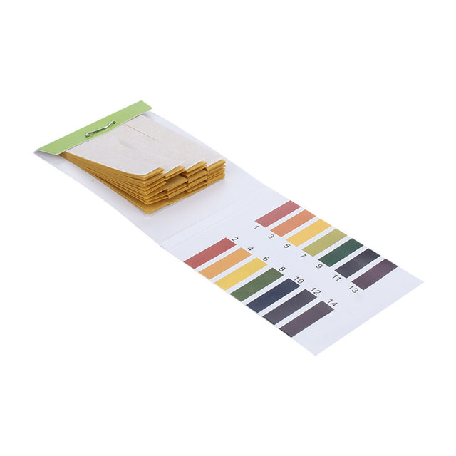 Acid Base Testpaper Urinary Ketone Paper Durable 1-14 Paper Urine Dipstick Physical Fitness Test Diabetes Urine Test