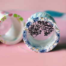 New Arrival Transparent 3.8cm Big Nail Art Stamp Professional Marshmallow Round Nail Art Stamper