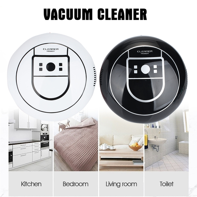 Automatic Auto Cleaning Robot Electric Vacuum Cleaners Smart Vacuum Cleaner Rechargeable Cordless Auto Sweeping Robot Premium