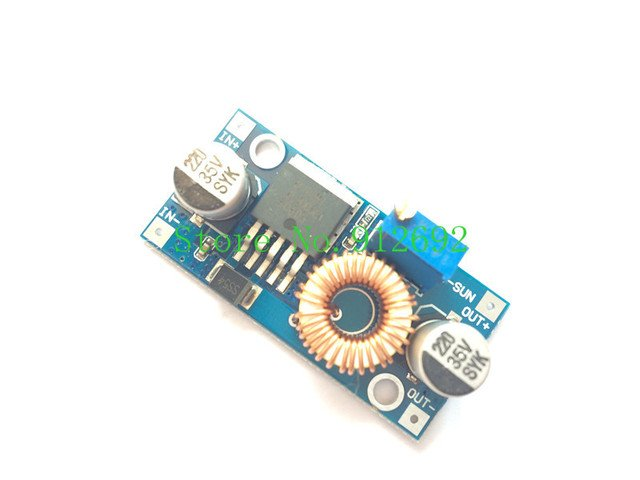 XL4005 DSN5000 Beyond LM2596 DC-DC adjustable step-down 5A power Supply module,5A Large current Large power