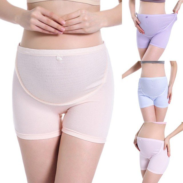 Cotton Adjustable Maternity Panties Girdle Support Briefs Underwear Underpants For Pregnant Women