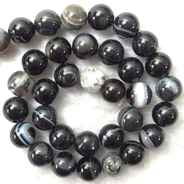 Black grey dragon vein natural carnelian stone agat round 4mm 6mm 8mm 10mm 12mm multicolor loose beads diy jewelry 15inch A37