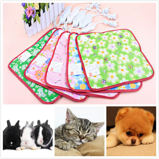 Electric Heated Pad Pet Electric Heating Blanket Cat Anti-scratch Dog Heating Mat Sleeping Bed For Autumn Winter Kitchenware