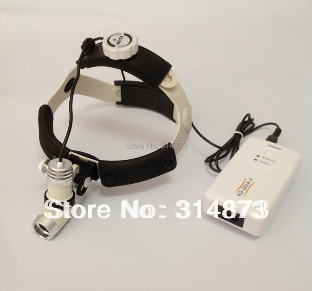 Free shipping High Brigtness,3W ,AC/DC optional  Surgical Headlight  medical head lamp Color Temperature: 6000 K