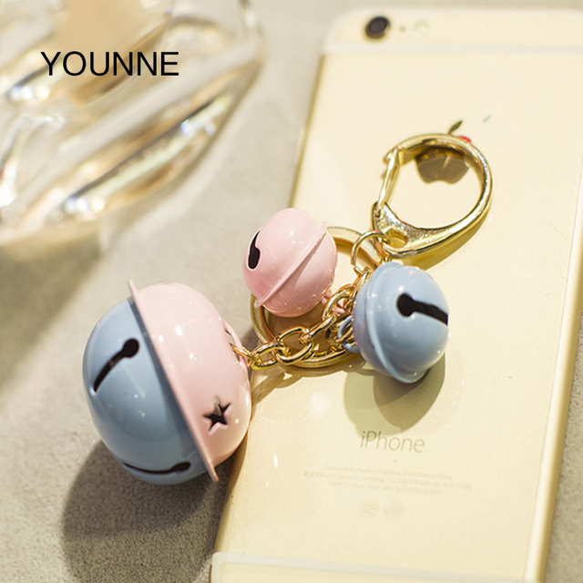 YOUNNE Women Bag Bell Set Accessories Cute Star Decoration Handbag Pendant Colorful MINI Casual DIY Crafts Accessories