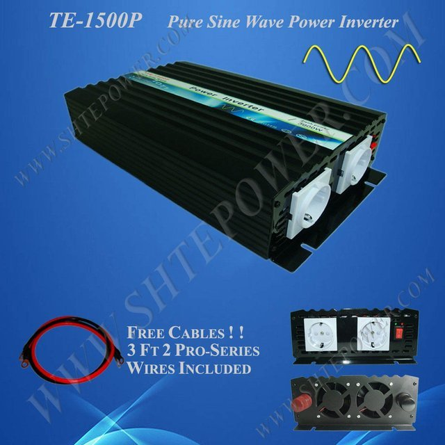 CE&RoHS Approved 1500W Pure Sine Wave Solar Inverter 1.5KW