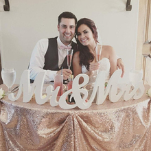"""8"""" Wooden pvc  Mr and Mrs Wedding sign, Wedding Decor, Wedding, Mr & Mrs wedding decoration  MR&MRS  letters"""
