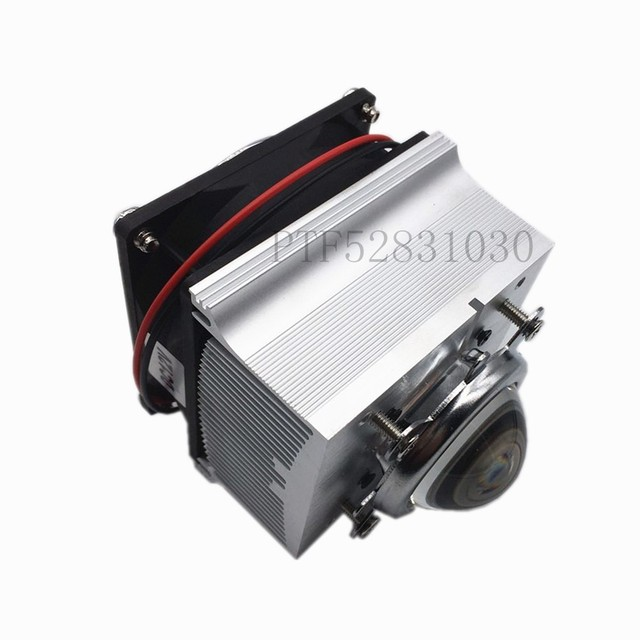 44MM 120degree Aluminium Heat Sink Cooling Fan For 20W 30W 50W 100W High Power Led Light