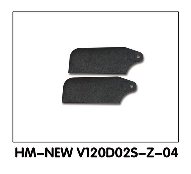 Walkera NEW V120D02S Parts HM-New V120D02S-Z-04 Tail rotor blades