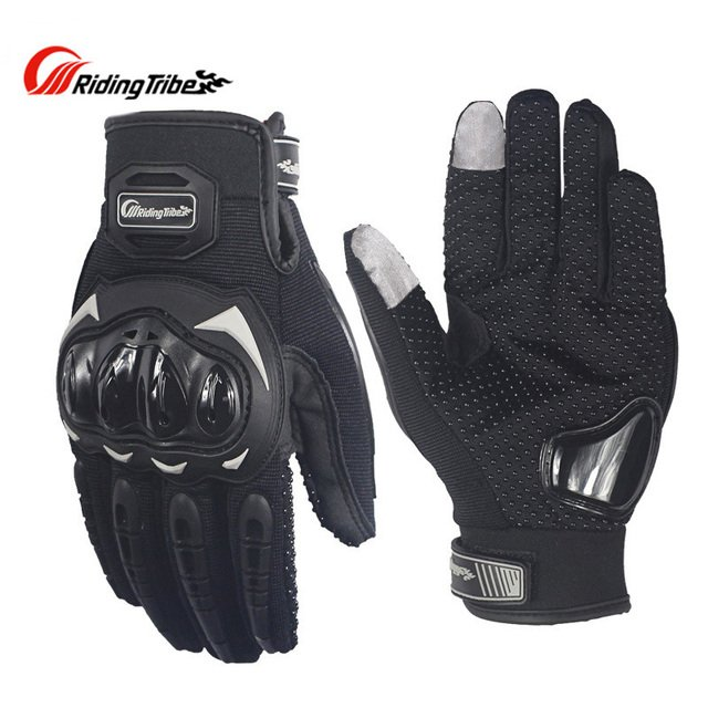 PRO-BIKER Men Motorcycle Racing Gloves Motocross Off-Road Enduro Full Finger Riding Gloves Size: M L XL 3 color
