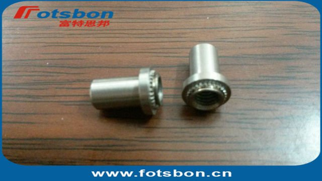 BS-0420-2  Blind press-in Nut, self-clinching nuts,SUS303,  in stock