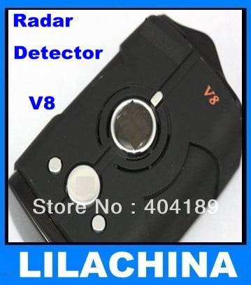 New! Factory price Car Radar detector support English and Russian language 360 V8 free shipping