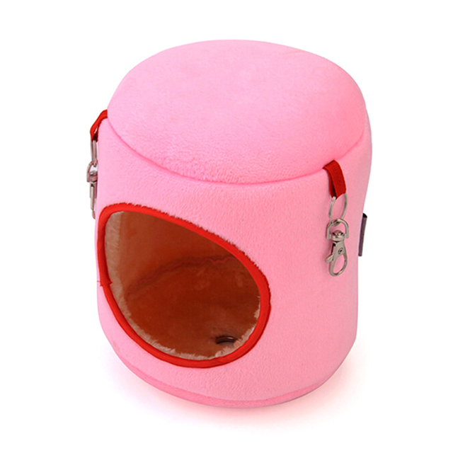 New Sale Small Pet Cotton Warm Hammock Bed House Cage For Hamster Rat Pretty Gifts 9*9*10cm