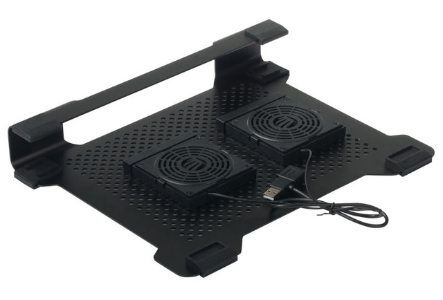 ORICO NCA-1513 -BK Full Aluminum USB MAC Laptop Cooling Pad for 14inch laptop or below with 2 removable DIY flexible 80cm fans