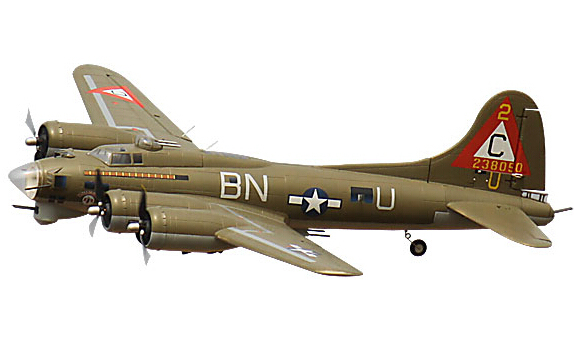 No Battery, RC Toy B17 RTF Plane Model