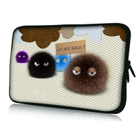 """Free Shipping Fuzzy 7"""" Tablet Laptop Neoprene Sleeve Pouch Case Bag For 7.9"""" Apple Ipad Mini w/Cover"""