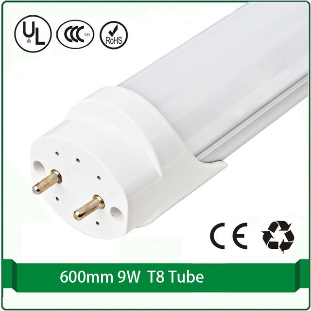 ( 4pcs / lot ) 600mm led tube led bulbs tubes 9W led tube t8 60cm t8 chinois de lampe en porcelaine lampe de chevet