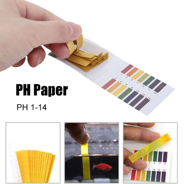 Practical Urinary Ketone Paper 1-14 PH017 Paper Urine Dipstick Water Quality Test Healthy Body Diabetes Urine Test