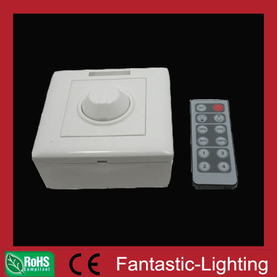 wireless IR dimmer 12keys remote panel 10pcs/lot 12V 24V output for LED panel light LED strip light LED G4 lamps