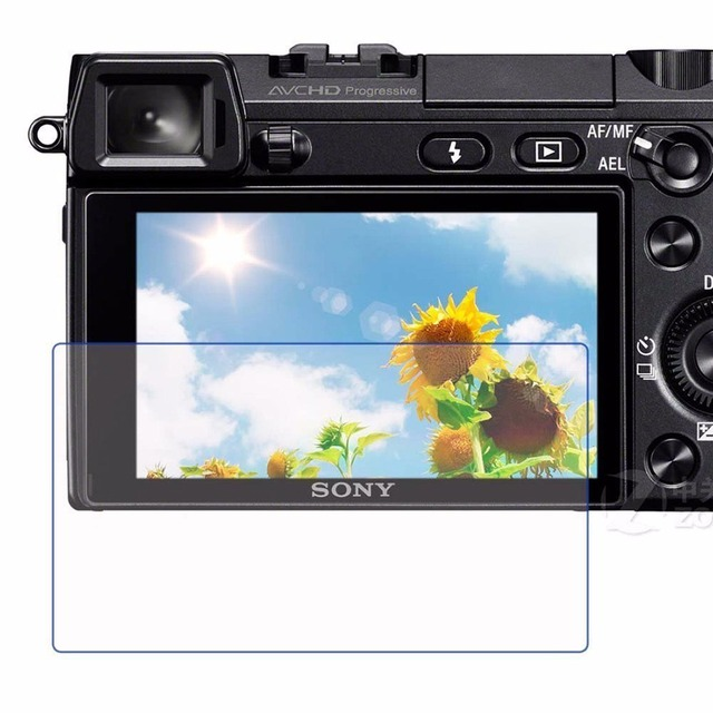 9H Tempered Glass LCD Screen Protector for Sony A77/A99,free tracking numbe