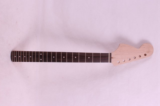 New left  High Quality Unfinished electric guitar neck Solid wood Body &  fingerboard    model 1pcs #9