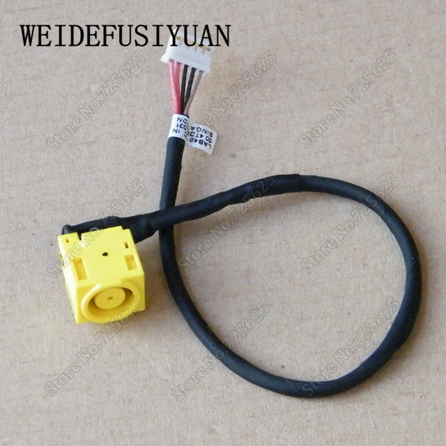 New DC Power Jack Plug In Charging Port Connector Socket Wire Cable Harness for Lenovo B480 B485 B490 M490 M490S M495 V480 V480C