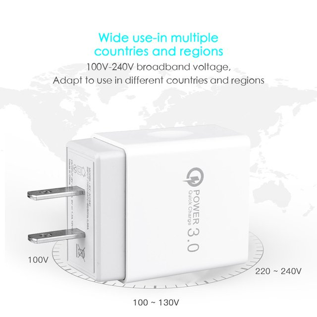 Durable Charger Notebook 100V-240V Power Adapter Digital Camera Universal Wall Charger Wall for IPad