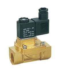 Free Shipping 3/8'' Brass Pilot Operated Solenoid Valves 2/2 Way 13mm Orifice 2V130-10 Model In Stock 10pcs A Lot