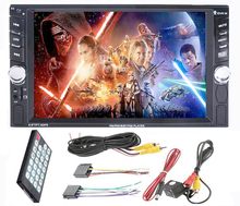 2 Din multimedia Car Stereo Touch Screen (No DVD)Player Auto Radios Steering Wheel Control (no gps navigation) Rear View Camera