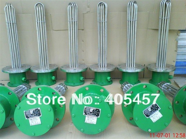 explosion-proof electric heating tube, high-power heater pipe, U type heating element, U-tube,industry heater element