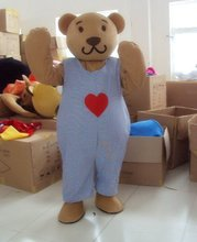 2017 New Lovely Bear Cartoon Character Costume Cosplay Mascot Custom Products Custom-made(s.m.l.xl.xxl) Free Shipping