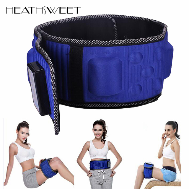 Healthsweet Infrared Electric Body Slimming Belt Heating Vibration Weight Loss Fat Burning Massage Sauna Waist Slimming Massager